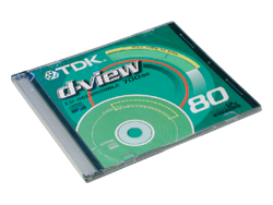 Диск CD-R TDK 80 min 700Mb  48x slim/10шт.